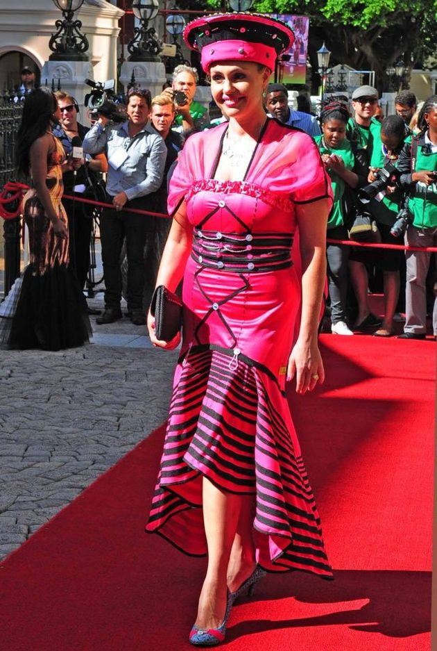 The Sona Red Carpet Highlights Cape Town College Of Fashion Design