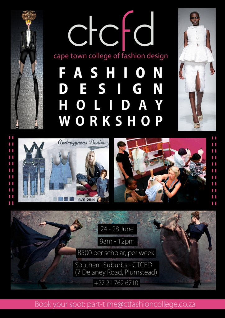 Ctcfd Teen Holiday Workshop Cape Town College Of Fashion Design